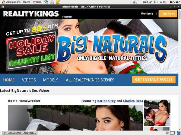 big naturals anal