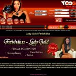 Get Free LadyGoldFetishdiva Account