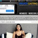 Private Casting X Account Generator 2016