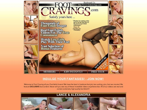 Where To Get Free Foot Cravings Account