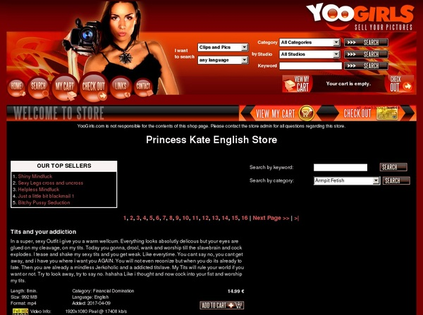 Accounts To PrincessKateEnglish