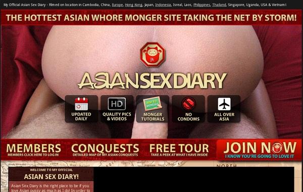 Free Asian Sex Diary Logins
