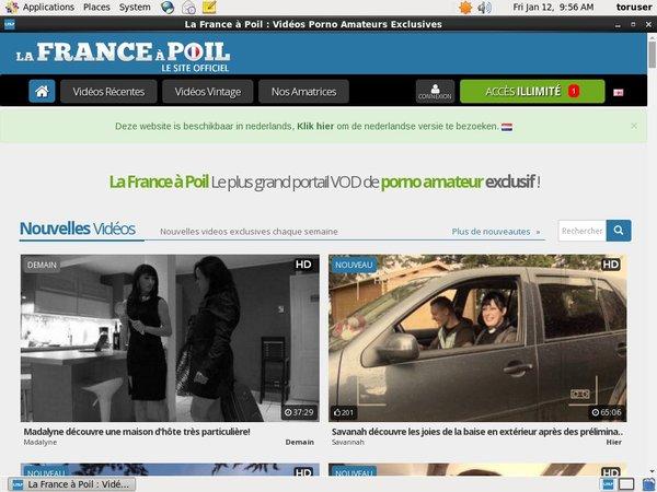 La France A Poil Page