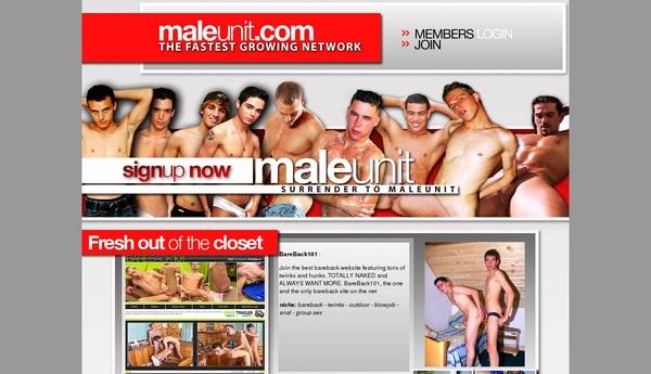 Male Unit Cuentas