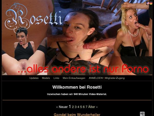 Rosetti Premium Accounts Free